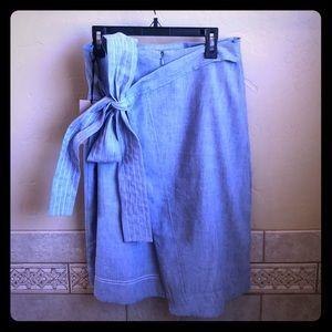 Halogen Denim Skirt